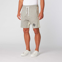 Panda Diplomacy Sweat Shorts Grey