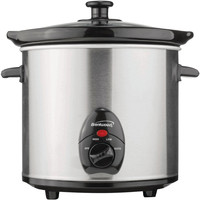 Brentwood 3-quart Slow Cooker (stainless Steel Body)