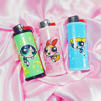 Powerpuff Girls Bic Lighter Case
