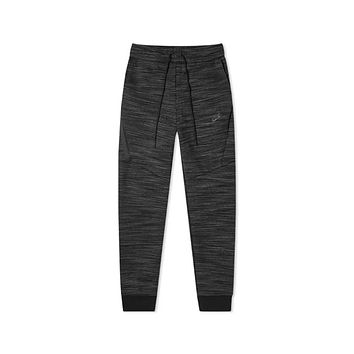 Nike Men's NSW Sportswear Tech Fleece Jogger Dark Grey Black Heather Pants