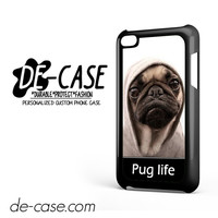 New Design Funny Hilarious Pug Life Parody Fans For Ipod 4 Case Phone Case Gift Present