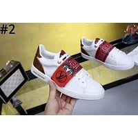 LV 2019 new sports and leisure women's models wild white shoes #2