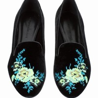 CHRISTOPHER KANE BOUQUET SLIPPERS - WOMEN - JUST IN - CHRISTOPHER KANE - OPENING CEREMONY