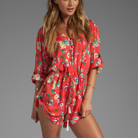 Spell & The Gypsy Collective Sundance Playsuit in Floral from REVOLVEclothing.com