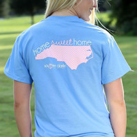 North Carolina - Blue & Pink