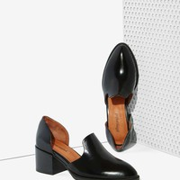 Jeffrey Campbell Appeal Leather Loafer