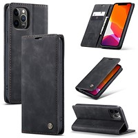 CaseMe Flip Case For iPhone 12 mini Pro Max Retro Magnetic Card Leather Wallet For iPhone 11 Pro Max 8 7Plus Xr Xs Max X SE 2020