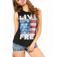 LIVE FREE Knit Top