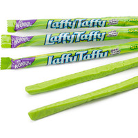 Wonka Laffy Taffy Ropes - Sour Apple: 24-Piece Box