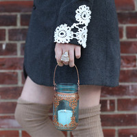 DIY: Applique Cuffs For Your Winter Coat