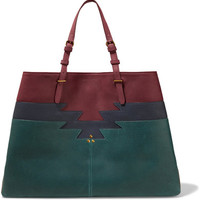 Jérôme Dreyfuss - Maurice color-block leather tote