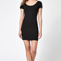 Lisakai Ribbed V-Back Bodycon Dress at PacSun.com