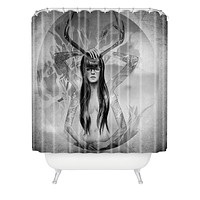 Deniz Ercelebi Through The Gate 2 Shower Curtain