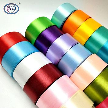 25 Yards Satin Ribbons DIY Weddings Gifts Artificial Silk Roses Craft Supplies Handicraft Sewing Accessories Material Assorted Sizes  6/10/15/20/25/40/50mm FREE SHIPPING