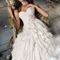 Bridal Gowns, Wedding Dresses by Jim Hjelm - Style jh8105