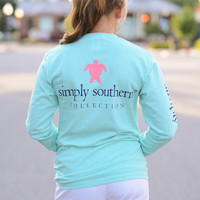 Simply Southern Long Sleeve Turtle Tee