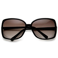 Oversize Designer Trendy Womens Fashion Sunglasses 8812