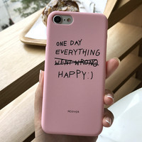 Pink Case for iPhone 7 7Plus & iPhone se 5s 6 6 Plus Best Protection Cover +Gift Box