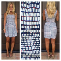 Spangled Square Party Dress