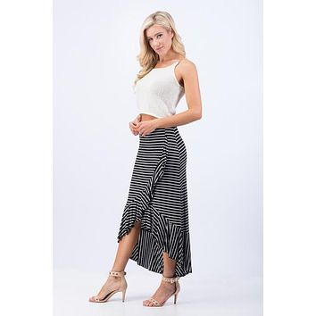 Sassy But Classy Striped Skirt