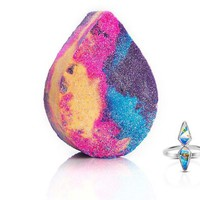Unicorn Tears - Bath Bomb With a Ring and a Chance to Win a $10k Ring