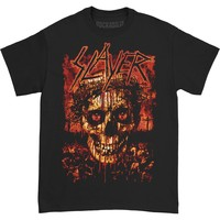 Slayer Men's  Crowned Skull T-shirt Black