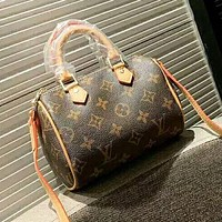 LV New fashion monogram print shoulder bag women