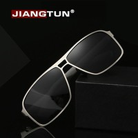 New Men Cool Alloy Polaroid Sun Glasses Polarized Sunglasses Design Sun Glasses Driving Eye wear
