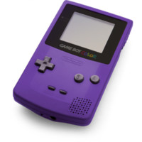 Gameboy Color System - Grape w/ New Screen (Pre-owned)