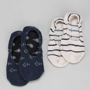 Anchor No-Show Sock- Pack of 2