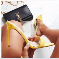 New hot style pointy high-heeled sandals for summer
