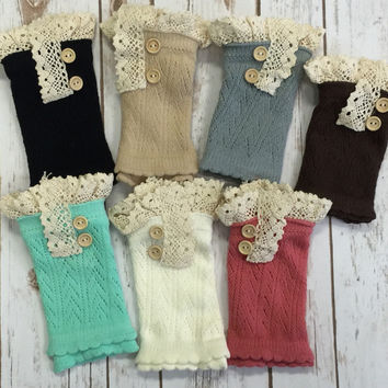 Chrissy Boot Cuffs: Multiple Colors