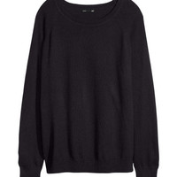 Cashmere-blend Sweater - from H&M