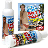 WILL FERRELL'S SUPER SEXY SUNSCREEN