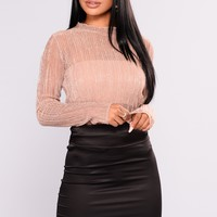 Anneliese Top - Rose Gold