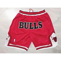 NBA Chicago Bulls Retro Basketball Sport Short