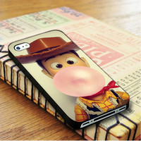 Disney Toy Story Woody Bubble Gum   For iPhone 4/4S Cases   Free Shipping   AH1171