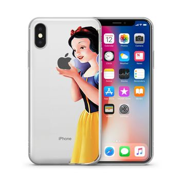 Disney's Snow White Jelly Clear Case For Apple Iphone X (10)