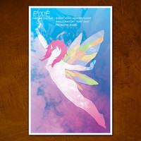 Pixie XMen Comic Character Poster Series by ModernStylographer