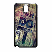 Nike Just Do It Wood Samsung Galaxy Note 3 Case