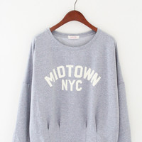 "Gray ""Midtown NYC"" Sweatshirt"
