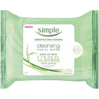 Kind To Skin Cleansing Facial Wipes 25 Ct