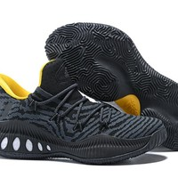 Adidas Performance Men's Crazy Explosive Primeknit Basketball Shoe - Black/Yellow