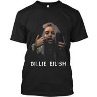 Christmas Fun Billie-Lover-Eilish-Music- Fan Cool Gift Custom Ultra Cotton