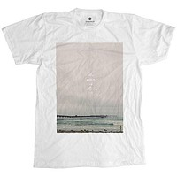 Ocean Is Calling White T-Shirt