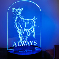 Harry Potter Patronus Acrylic LED Light Set