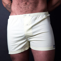 Solid Yellow Boxer Short - Sunny