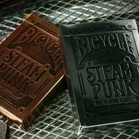 Steampunk playing cards from RedEnvelope.com