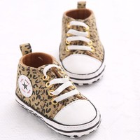 New Classic Leisure Spring Autumn Infant Toddler Prewalker First Walkers Shoes Newborn Baby Kids Sports Soft Soled Sneakers 0-1T