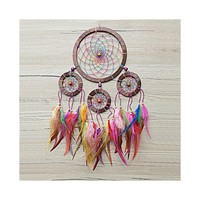Dream catcher, Boho Dreamcatcher, Boho Wall Hanging, Bohemian Decor, Rainbow, Native American, Boho Style, Nursery Dreamcatcher Decor • DreamCatcherLT's Shop
